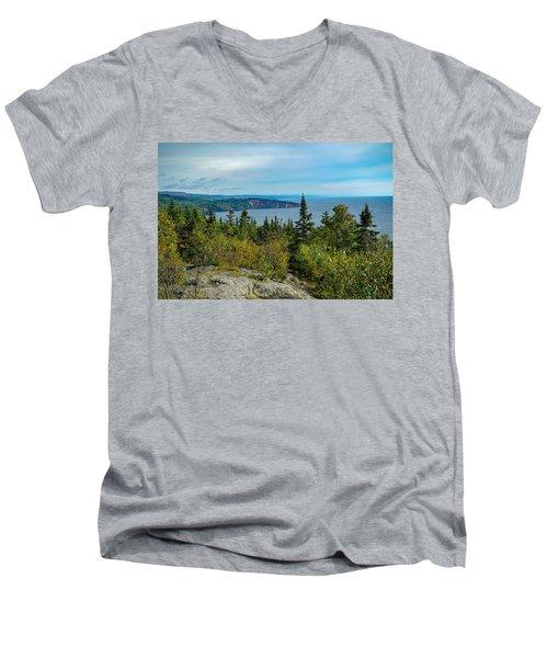Palisade Head Men's V-Neck T-Shirt