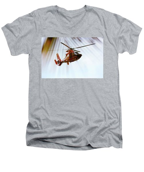 Palm Chopper Men's V-Neck T-Shirt