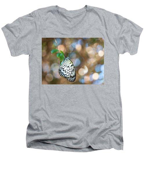 Paper White Rest Men's V-Neck T-Shirt