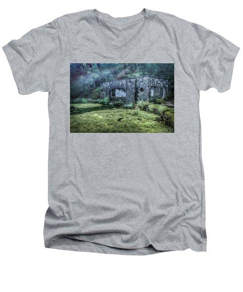 Paradise Springs Men's V-Neck T-Shirt
