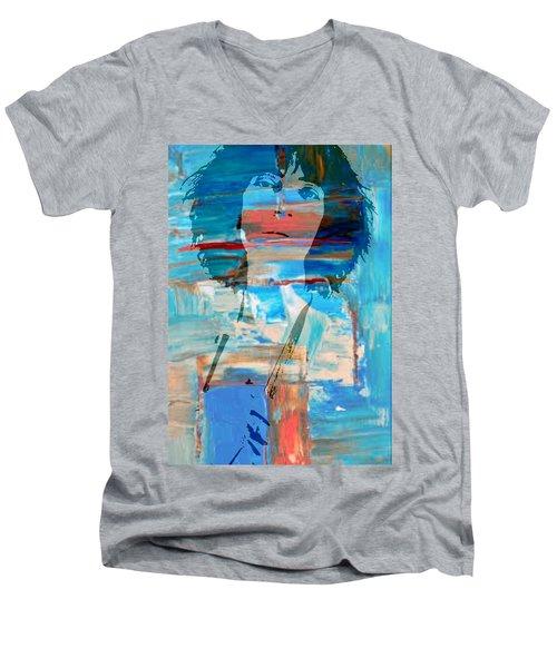 Patti Smith Men's V-Neck T-Shirt