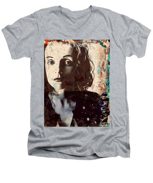 Patty Griffin Men's V-Neck T-Shirt