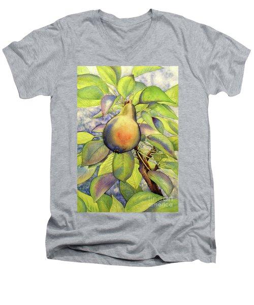 Pear Of Paradise Men's V-Neck T-Shirt