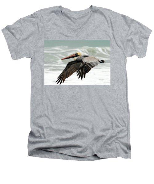 Pelican Glide Men's V-Neck T-Shirt