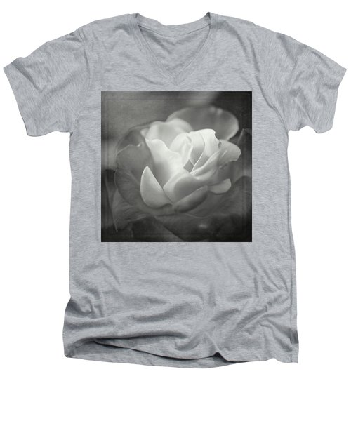 Perfectly Imperfect Monochrome By Tl Wilson Photography Men's V-Neck T-Shirt