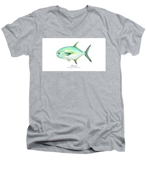 Permit Men's V-Neck T-Shirt