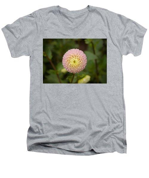 Petite Pink Men's V-Neck T-Shirt