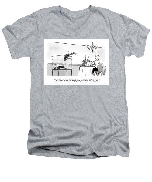 Pick The Other Guy Men's V-Neck T-Shirt