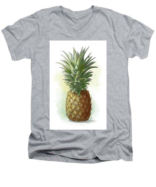 Pineapple Men's V-Neck T-Shirt