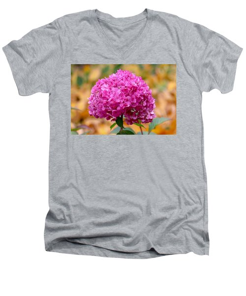 Pink Bouquet  Men's V-Neck T-Shirt