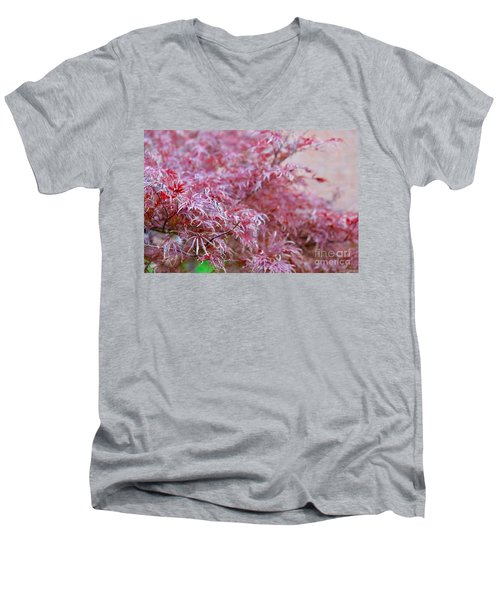 Pink Fairy Tale Men's V-Neck T-Shirt