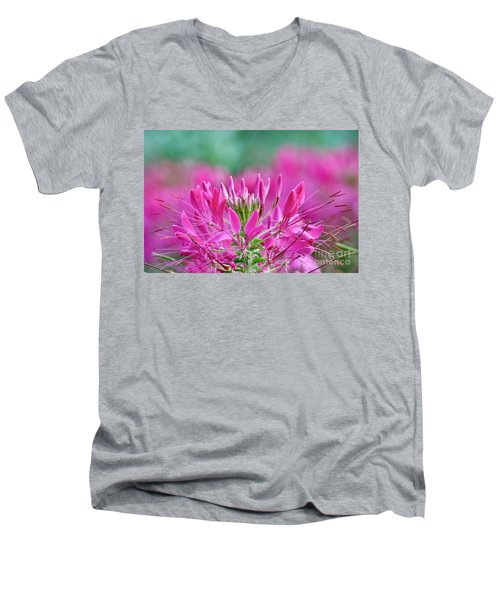 Pink Queen Men's V-Neck T-Shirt