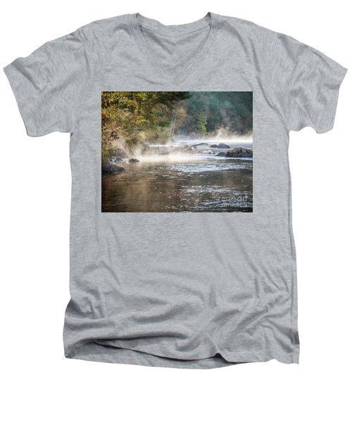Pipeline Pool  Men's V-Neck T-Shirt