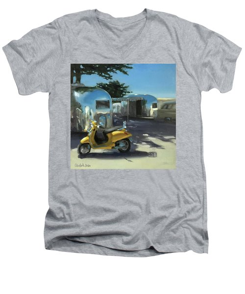 Pismo Vintage Rally Men's V-Neck T-Shirt