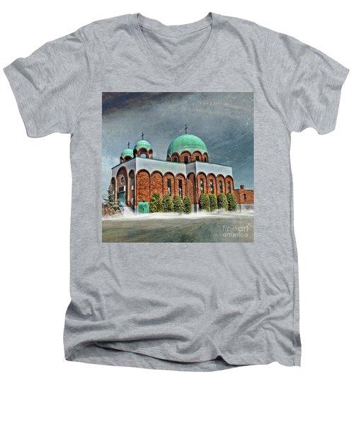 Place Of Worship Men's V-Neck T-Shirt