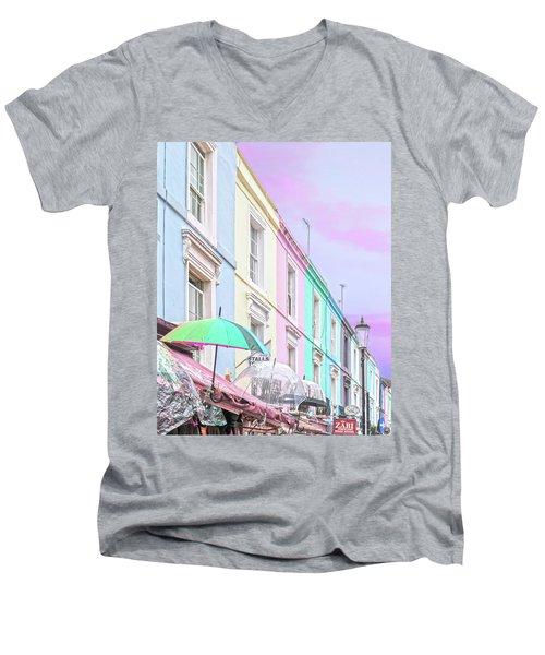 Poe Men's V-Neck T-Shirt