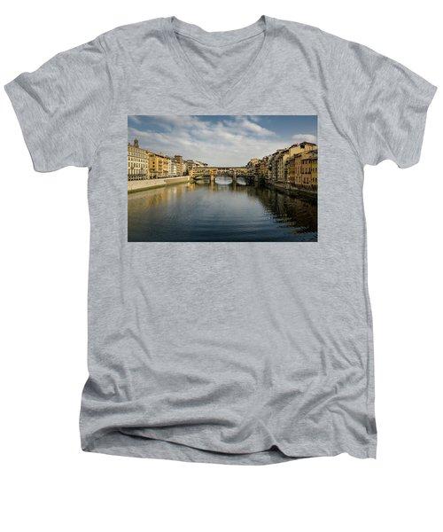Ponte Vecchio Men's V-Neck T-Shirt