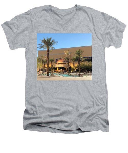 Poolside Men's V-Neck T-Shirt