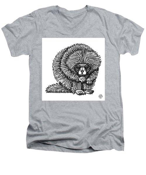 Porcupine Men's V-Neck T-Shirt