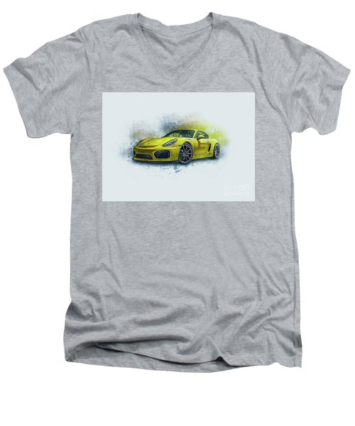 Porsche 911 Men's V-Neck T-Shirt