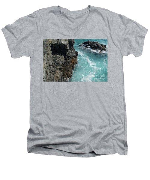 Porto Covo Cliff Views Men's V-Neck T-Shirt