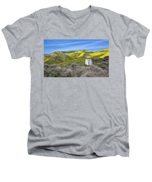 Pretty In Patina Men's V-Neck T-Shirt