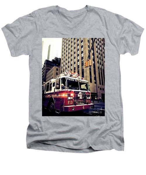 Pride Of Midtown Men's V-Neck T-Shirt