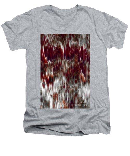 Psalm 34 18. A Contrite Spirit Men's V-Neck T-Shirt