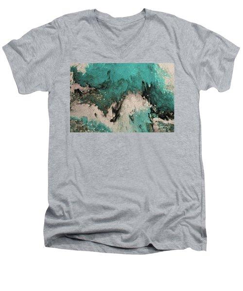 Psalm 59 17. I Will Sing Praises Men's V-Neck T-Shirt