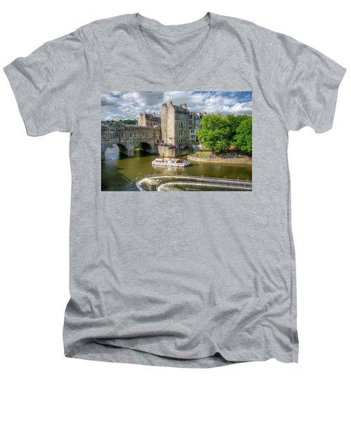Pulteney Bridge Men's V-Neck T-Shirt