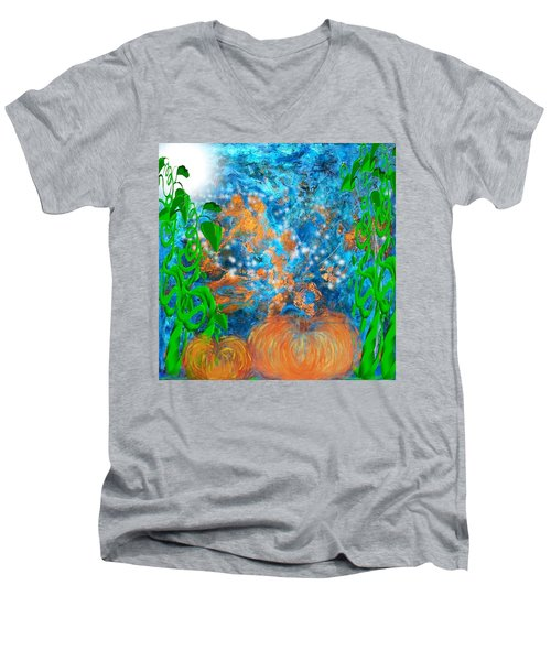 Pumpkin Patch Men's V-Neck T-Shirt