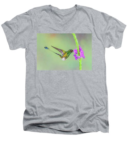 Purple Attraction Men's V-Neck T-Shirt