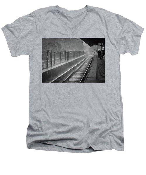 Rainy Days And Metro Men's V-Neck T-Shirt
