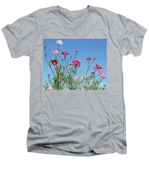 Reach For The Cosmos Men's V-Neck T-Shirt