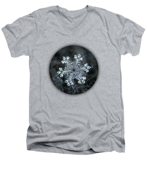 Real Snowflake - 26-dec-2018 - 1 Men's V-Neck T-Shirt