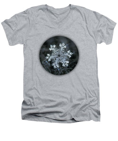 Real Snowflake - 26-dec-2018 - 1 Men's V-Neck T-Shirt