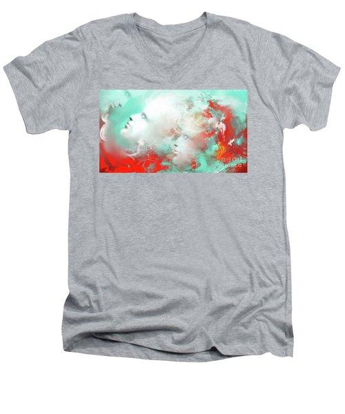 Reconnect Men's V-Neck T-Shirt