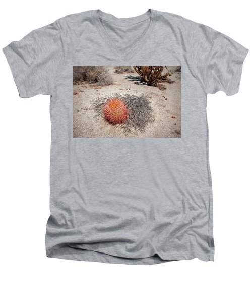 Red Barrel Cactus And Mesquite Men's V-Neck T-Shirt