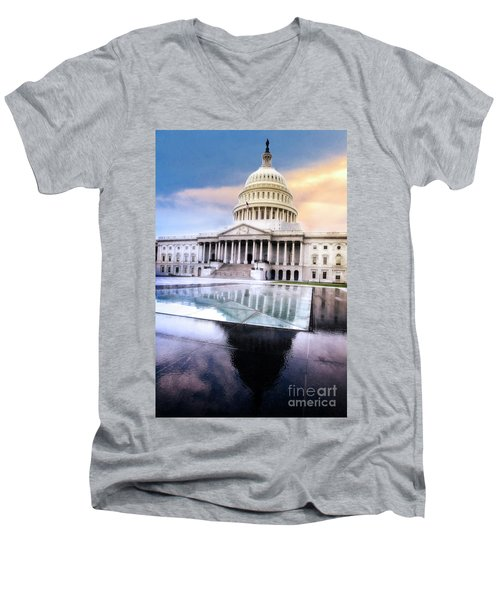 Reflecting Pool Men's V-Neck T-Shirt