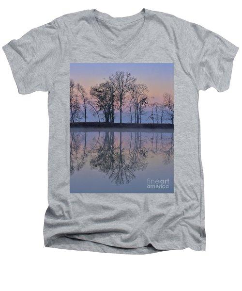Reflections On The Lake Men's V-Neck T-Shirt