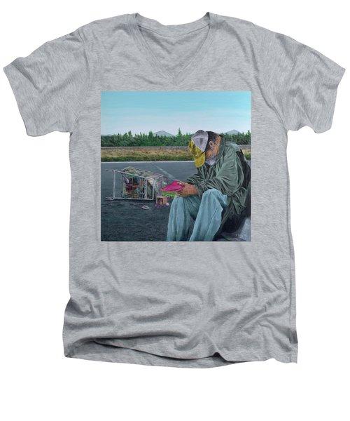 Regret Men's V-Neck T-Shirt