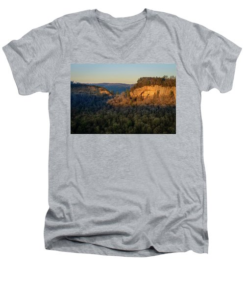 Revenuer's Rock Men's V-Neck T-Shirt