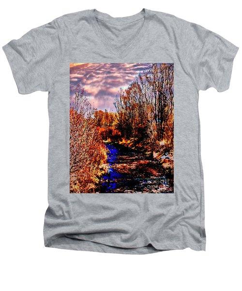 Rio Taos Bosque V Men's V-Neck T-Shirt