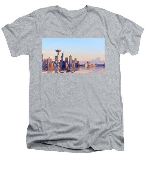Rising Tide Men's V-Neck T-Shirt