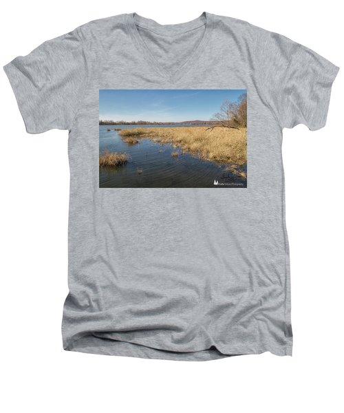 River Grass Men's V-Neck T-Shirt