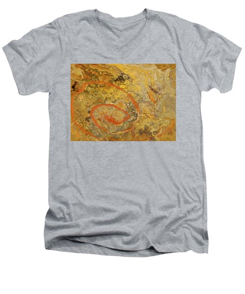 Riverbed Stone Men's V-Neck T-Shirt