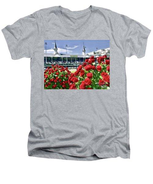 Road To The Roses Men's V-Neck T-Shirt