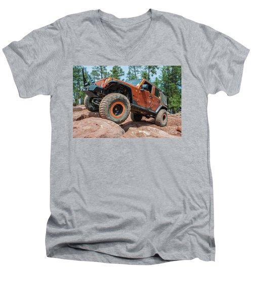 Rock Crawlin Men's V-Neck T-Shirt