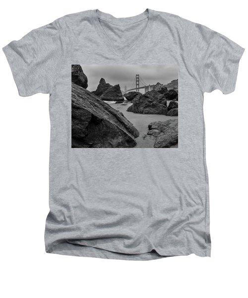 Rocky Marshall's Beach Men's V-Neck T-Shirt