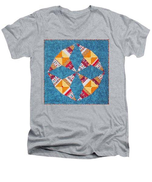 Rocky Road To Kansas Men's V-Neck T-Shirt
